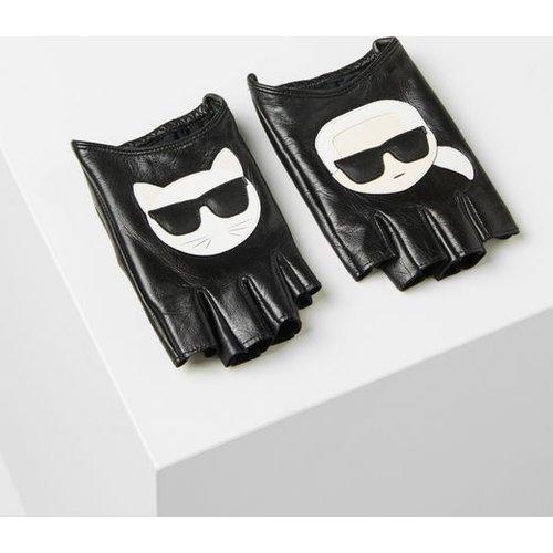 K/Ikonik gants en cuir - Karl Lagerfeld - Modalova