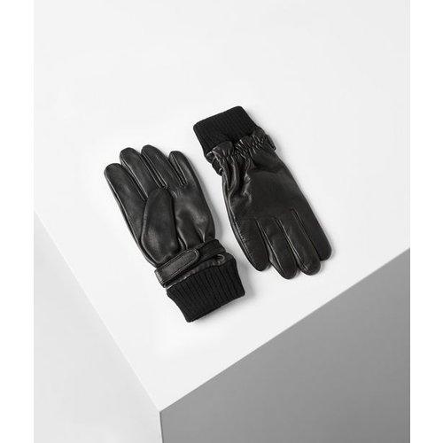 Gants en cuir - Karl Lagerfeld - Modalova