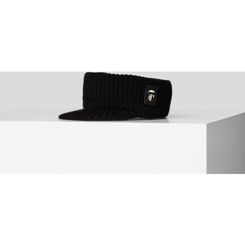 VISIÈRE K/IKONIK EN MAILLE - Karl Lagerfeld - Modalova