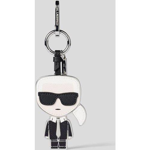 Porte-clés Karl en cuir - Karl Lagerfeld - Modalova