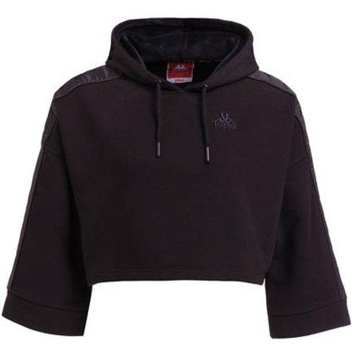 Sweatshirt & Hoodie im Sale - Kappa Cropped-Hoodie Allas schwarz
