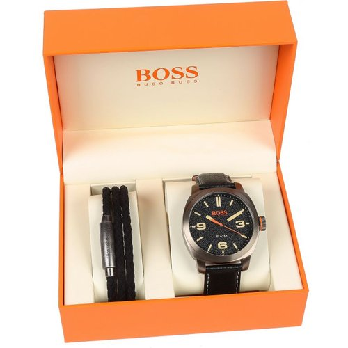 HUGO BOSS Hugo Boss Orange Cape Town Gift Set Capetown Gift Set Herrenuhr in Schwarz 1570052
