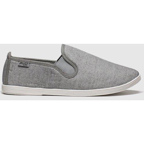 Save 71% - Blowfish Malibu Light Grey Gadget Flat Shoes