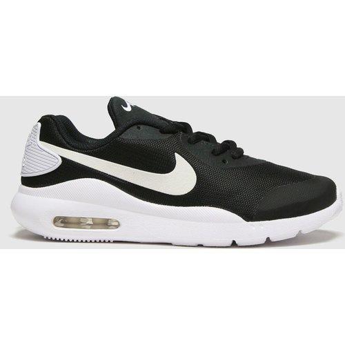 Nike Black & White Air Max Oketo Trainers Youth