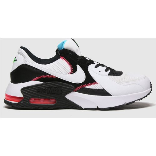 Save 37% - Nike White & Black Air Max Excee Trainers