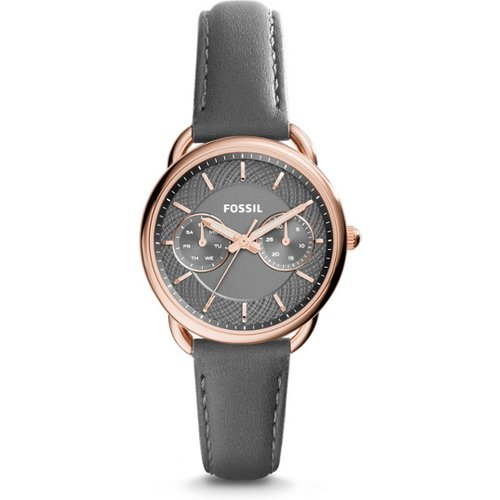 Women Montre Tailor Multifonction En Cuir - One size - Fossil - Modalova