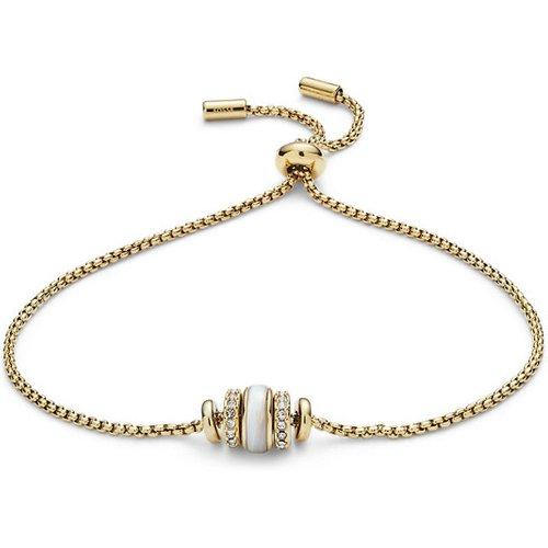 Unisex Bracelet Rivershell En Acier Inoxydable Doré - One size - Fossil - Modalova