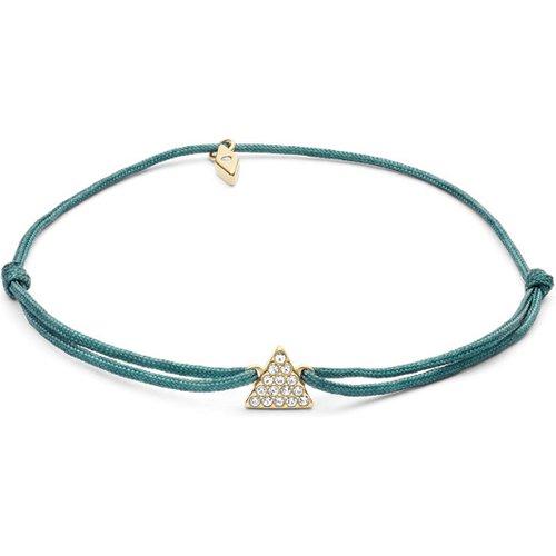 Unisex Bracelet Triangle En Nylon Vert - One size - Fossil - Modalova
