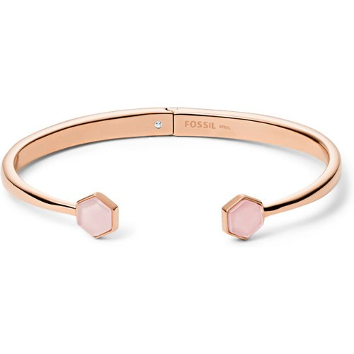 Unisex Bracelet Manchette En Acier Inoxydable Doré - One size - Fossil - Modalova