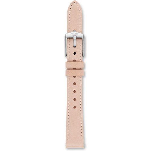 Women Bracelet De Montre Interchangeable En Cuir Blush 14 Mm - One size - Fossil - Modalova