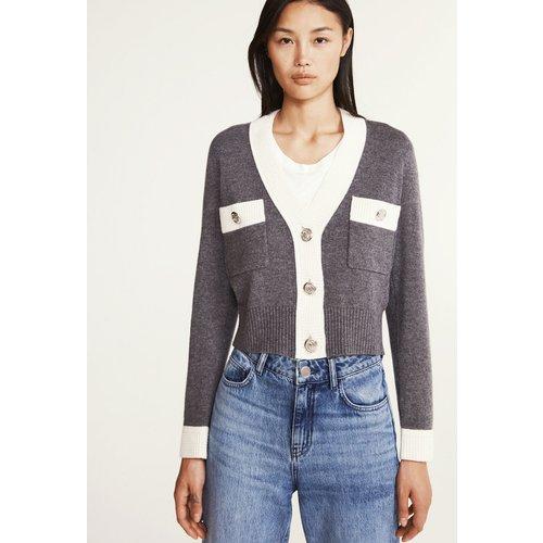 Cardigan en laine et cachemire - Claudie Pierlot - Modalova