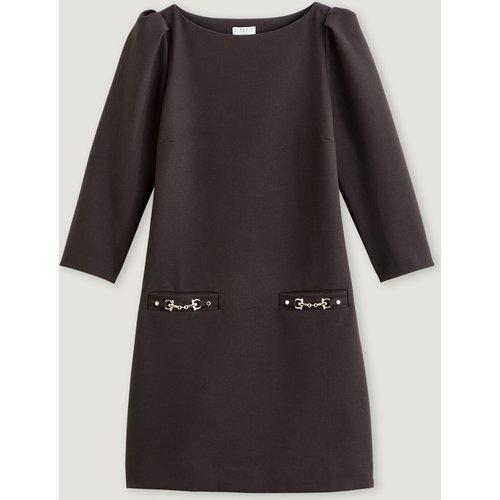 Robe droite noire - Claudie Pierlot - Modalova