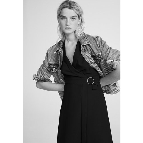 Robe portefeuille - Claudie Pierlot - Modalova