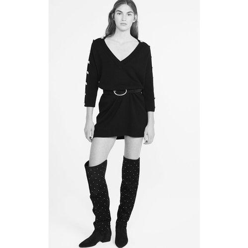 Robe-pull noire - Claudie Pierlot - Modalova