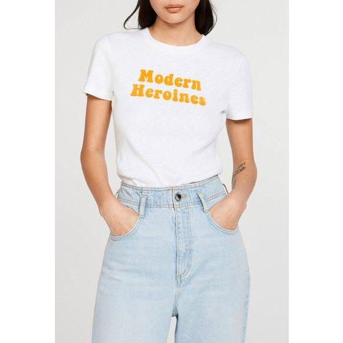 T-shirt sérigraphié en coton biologique - CLAUDIE PIERLOT - Modalova