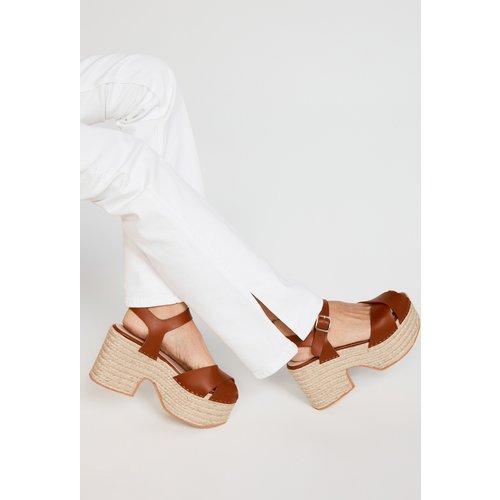 Sandales à plateforme - CLAUDIE PIERLOT - Modalova