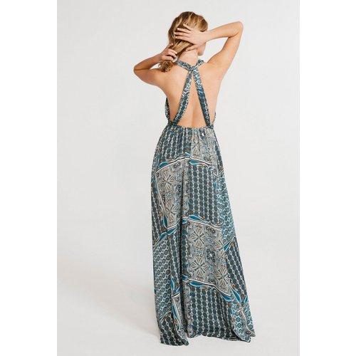 Robe longue dos-nu - CLAUDIE PIERLOT - Modalova