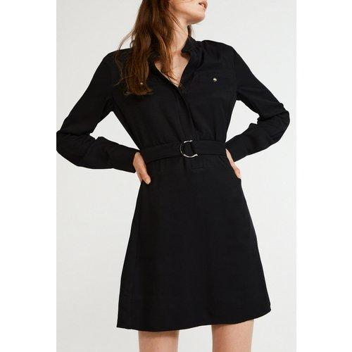 Robe chemise en viscose reponsable - CLAUDIE PIERLOT - Modalova