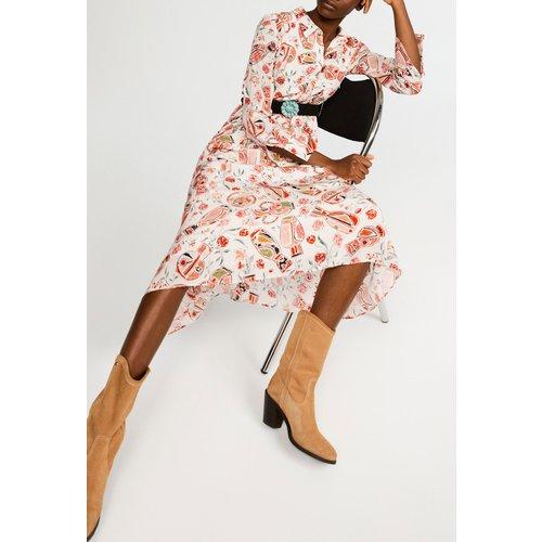 Robe chemise longue - CLAUDIE PIERLOT - Modalova