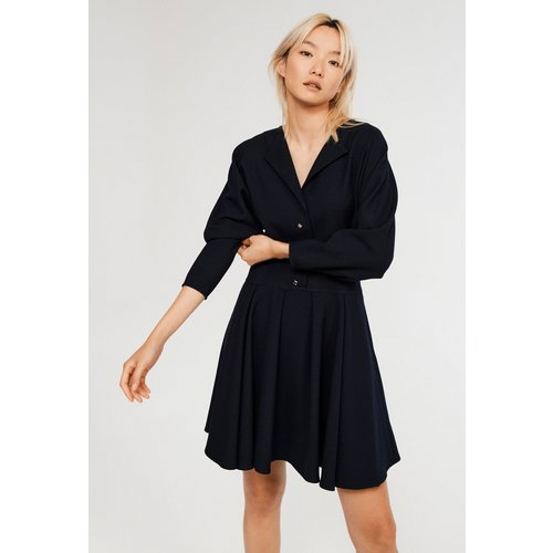 Robe courte en polyester responsable - CLAUDIE PIERLOT - Modalova