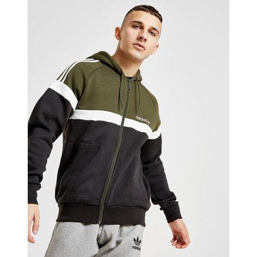 Sweatshirt & Hoodie im Sale - adidas Originals Itasca Full Zip Hoodie - Only at JD - Schwarz - Mens, Schwarz