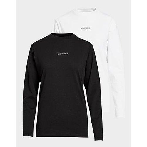 Pack 2 T-Shirt Manches Longues - McKenzie - Modalova