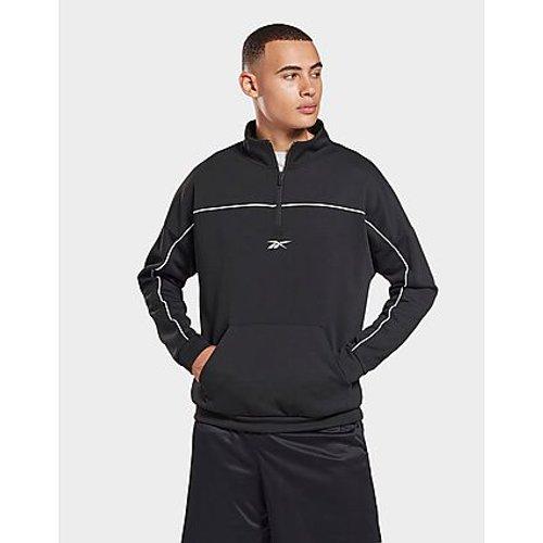 Sweat avec zip 1/4 à double maille workout ready -  - Reebok - Modalova