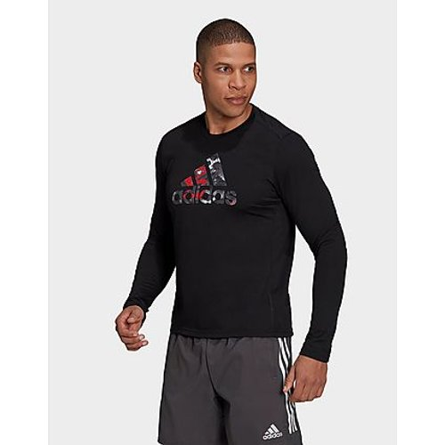 T-shirt Fast Graphic Long Sleeve - - Adidas - Modalova