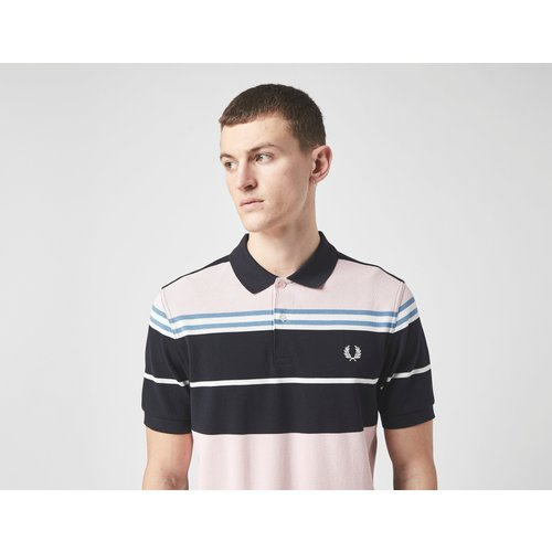 Polo Stripe Manches Courtes - Fred Perry - Modalova
