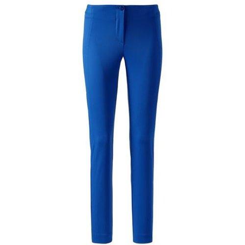 Pantalon stretch / bleu - Madeleine - Modalova
