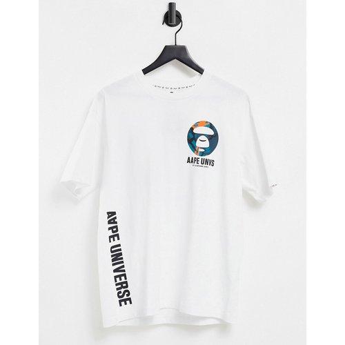 AAPE By A Bathing Ape - T-shirt imprimé dans le dos - AAPE BY A BATHING APE® - Modalova
