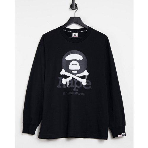 AAPE By A Bathing Ape - Crossbones - T-shirt manches longues - AAPE BY A BATHING APE® - Modalova