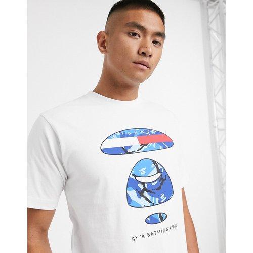 AAPE By A Bathing Ape x Tommy Jeans - T-shirt à grand logo - AAPE BY A BATHING APE® - Modalova