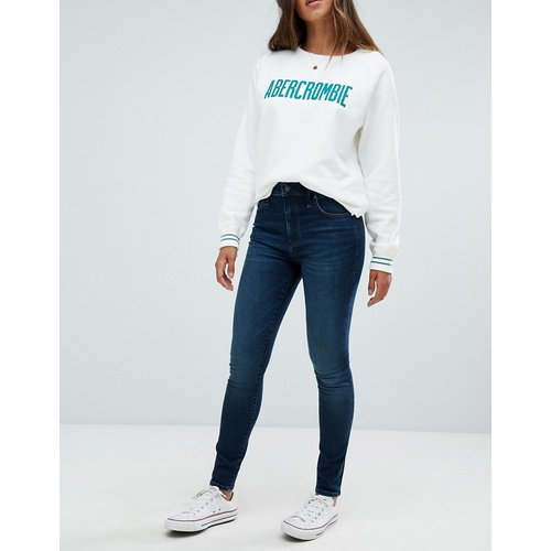 Jean super skinny stretch taille haute - Abercrombie & Fitch - Modalova