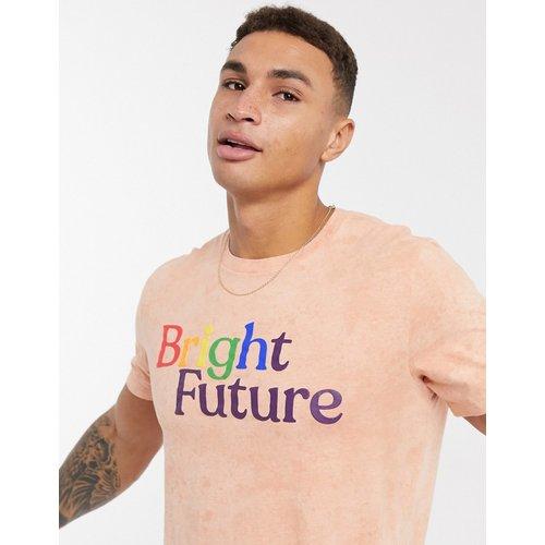 Pride - T-shirt à motif - Corail - Abercrombie & Fitch - Modalova