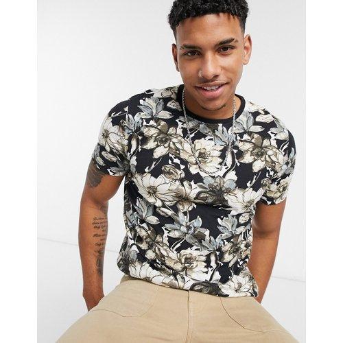 T-shirt à fleurs avec logo - Abercrombie & Fitch - Modalova