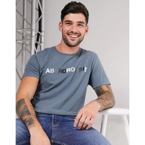 T-shirt avec logo en chenille - Abercrombie & Fitch - Modalova