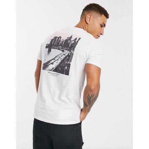 T-shirt avec logo et imprimé photo de ville - Abercrombie & Fitch - Modalova
