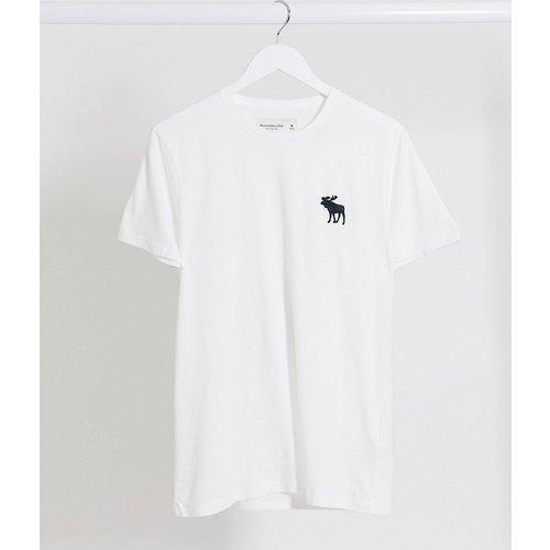 T-shirt ras de cou avec grand logo emblématique - Abercrombie & Fitch - Modalova