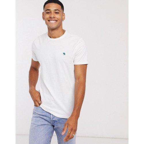 T-shirt ras de cou avec logo emblématique - Abercrombie & Fitch - Modalova