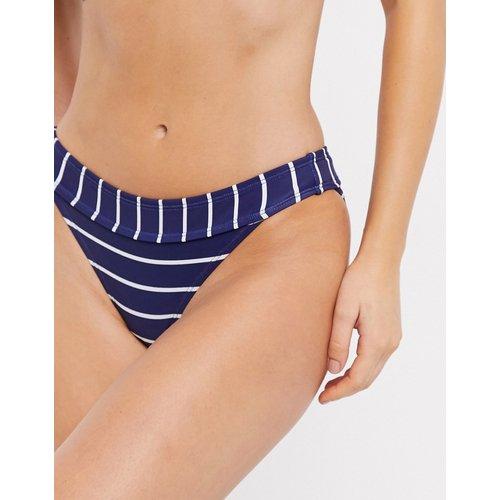 Bas de bikini rayé - Bleu marine - Accessorize - Modalova