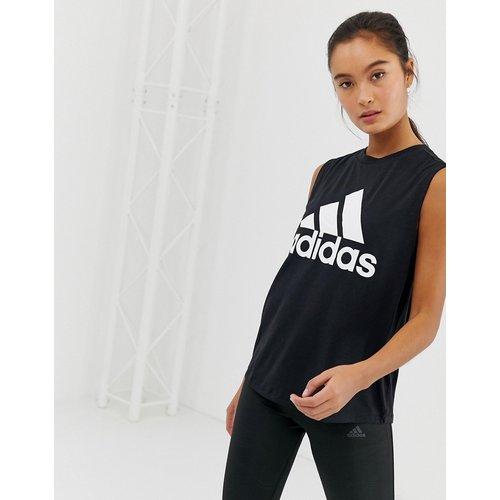 Adidas - Débardeur d'entraînement avec logo - adidas performance - Modalova