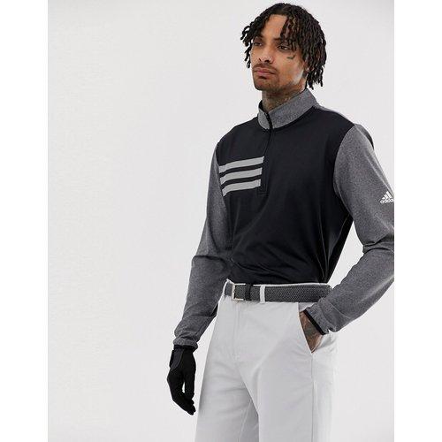 Competition - Sweat-shirt à 3 bandes avec fermeture éclair 1/4 - adidas Golf - Modalova