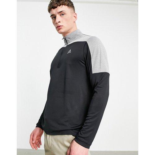 Top à col zippé - et gris - adidas Golf - Modalova