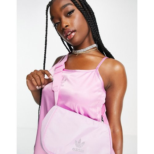 S Luxe - Petit sac avec logo en strass - adidas Originals - Modalova