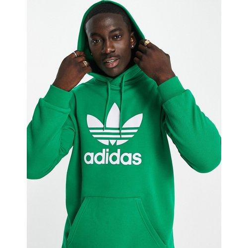 Adicolor - Hoodie avec grand logo trèfle - adidas Originals - Modalova