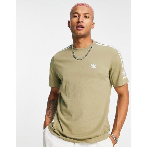 Adicolor - Lock Up - T-shirt - Kaki - adidas Originals - Modalova