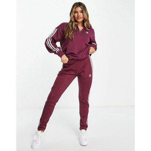 Adicolor - Pantalon de jogging à trois bandes - Pourpre - adidas Originals - Modalova
