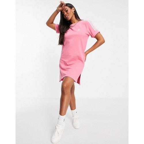 Adicolor - Robe t-shirt à trois bandes - adidas Originals - Modalova