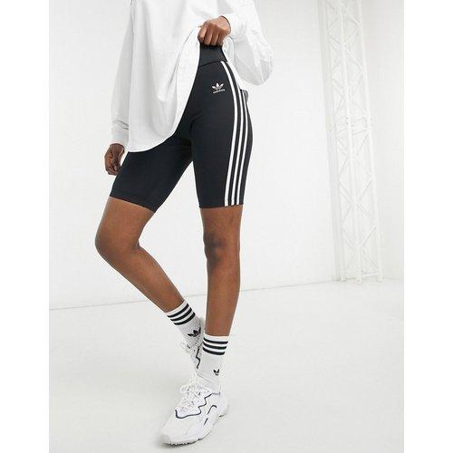 Adicolor - Short legging taille haute à trois bandes - adidas Originals - Modalova